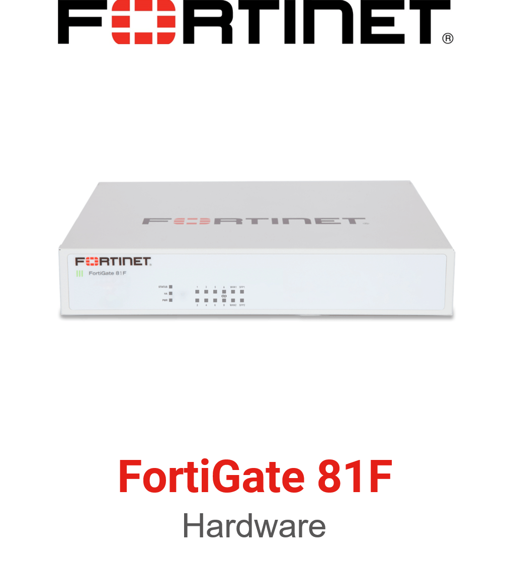 Fortinet FortiGate 81F Firewall