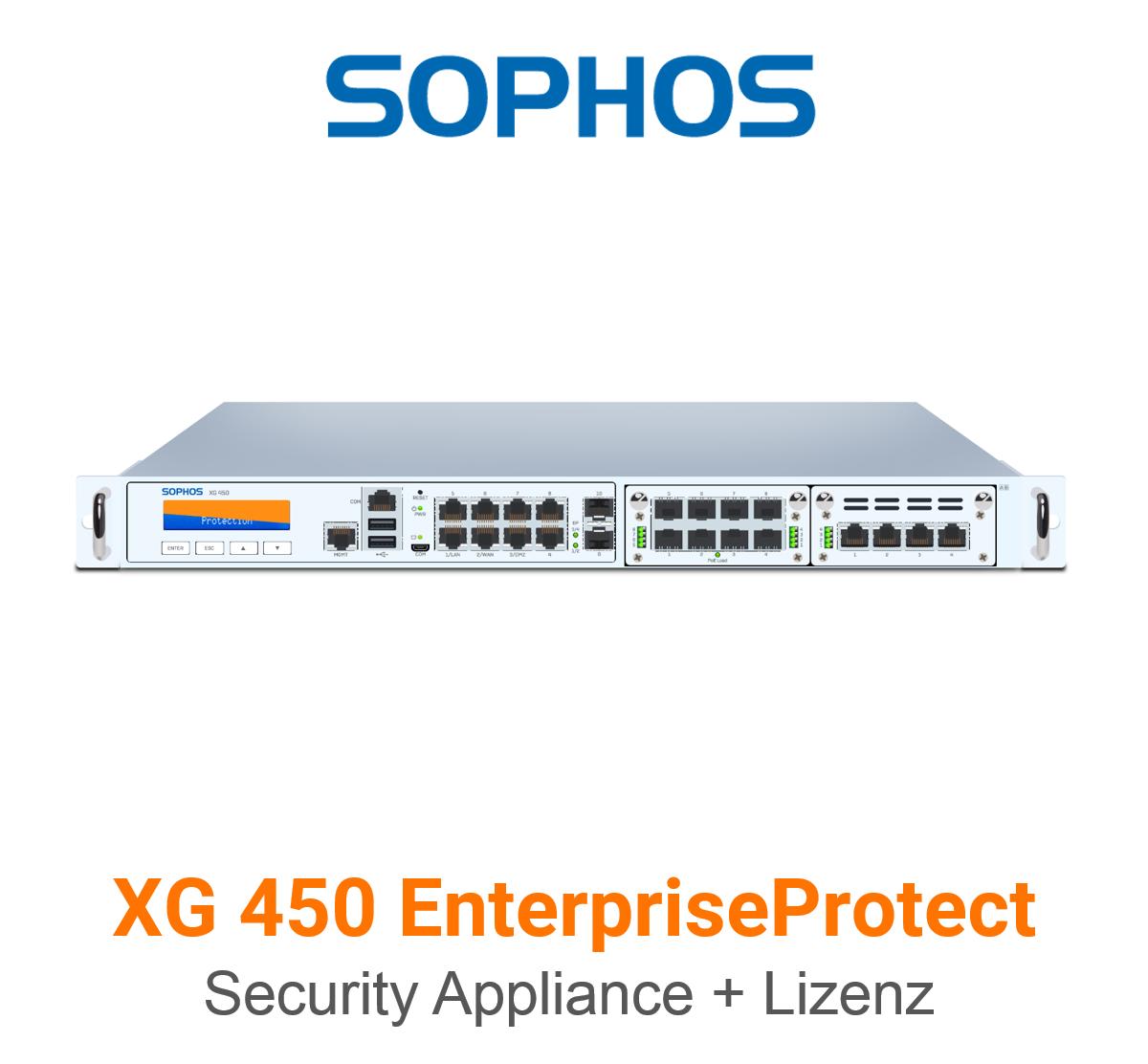Sophos XG 450 EnterpriseProtect Bundle (Hardware + Lizenz)