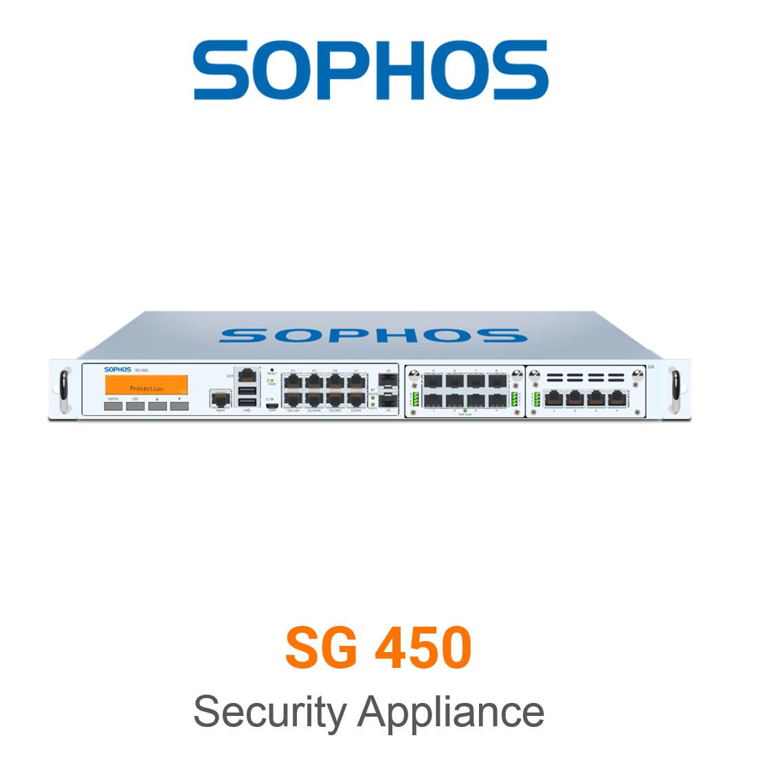 Sophos SG 450 Securiy Appliance