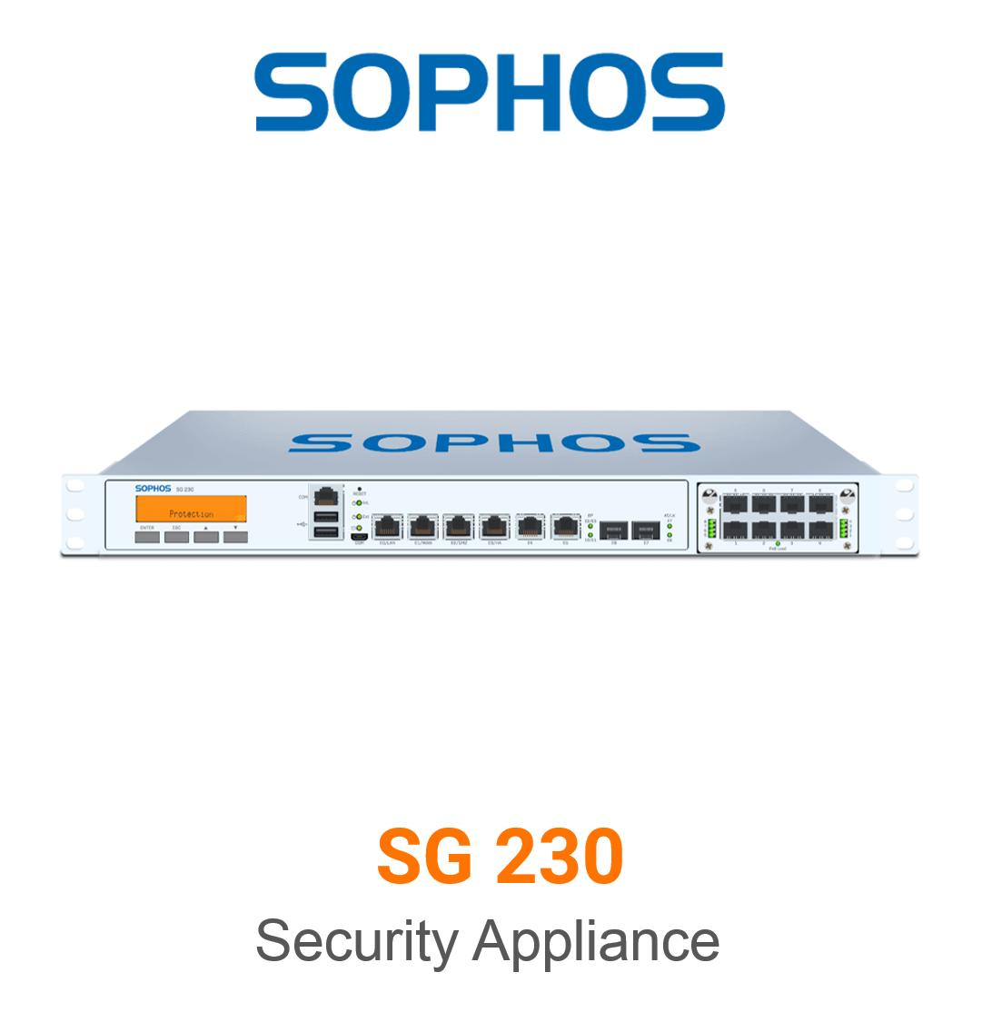 Sophos SG 230 Securiy Appliance