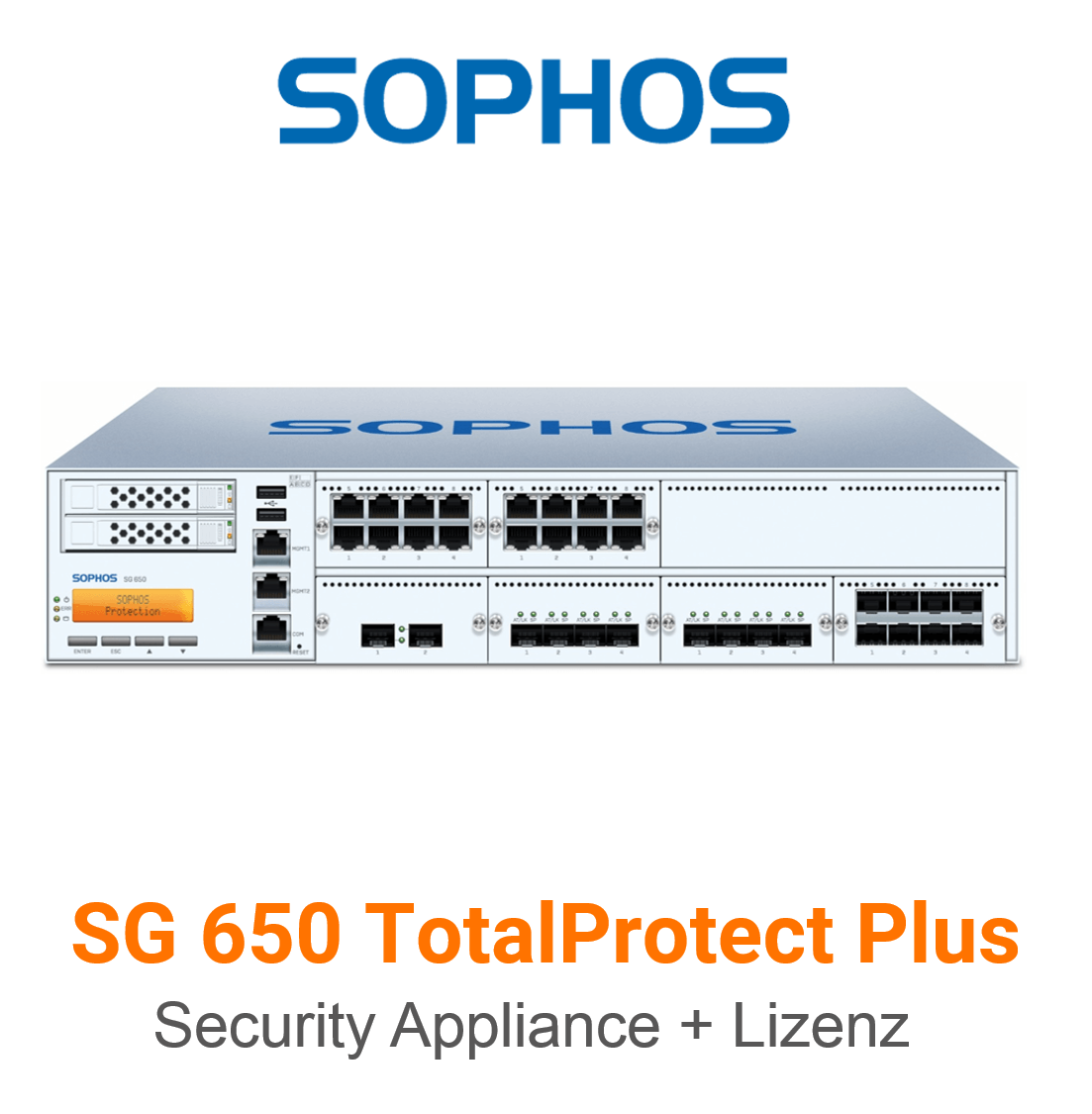 Sophos SG 650 TotalProtect Plus Bundle (Hardware + Lizenz)