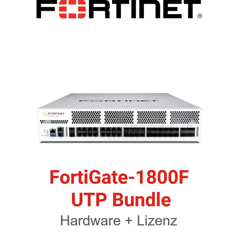 Fortinet FortiGate-1800F - UTM/UTP Bundle (Hardware + Lizenz)