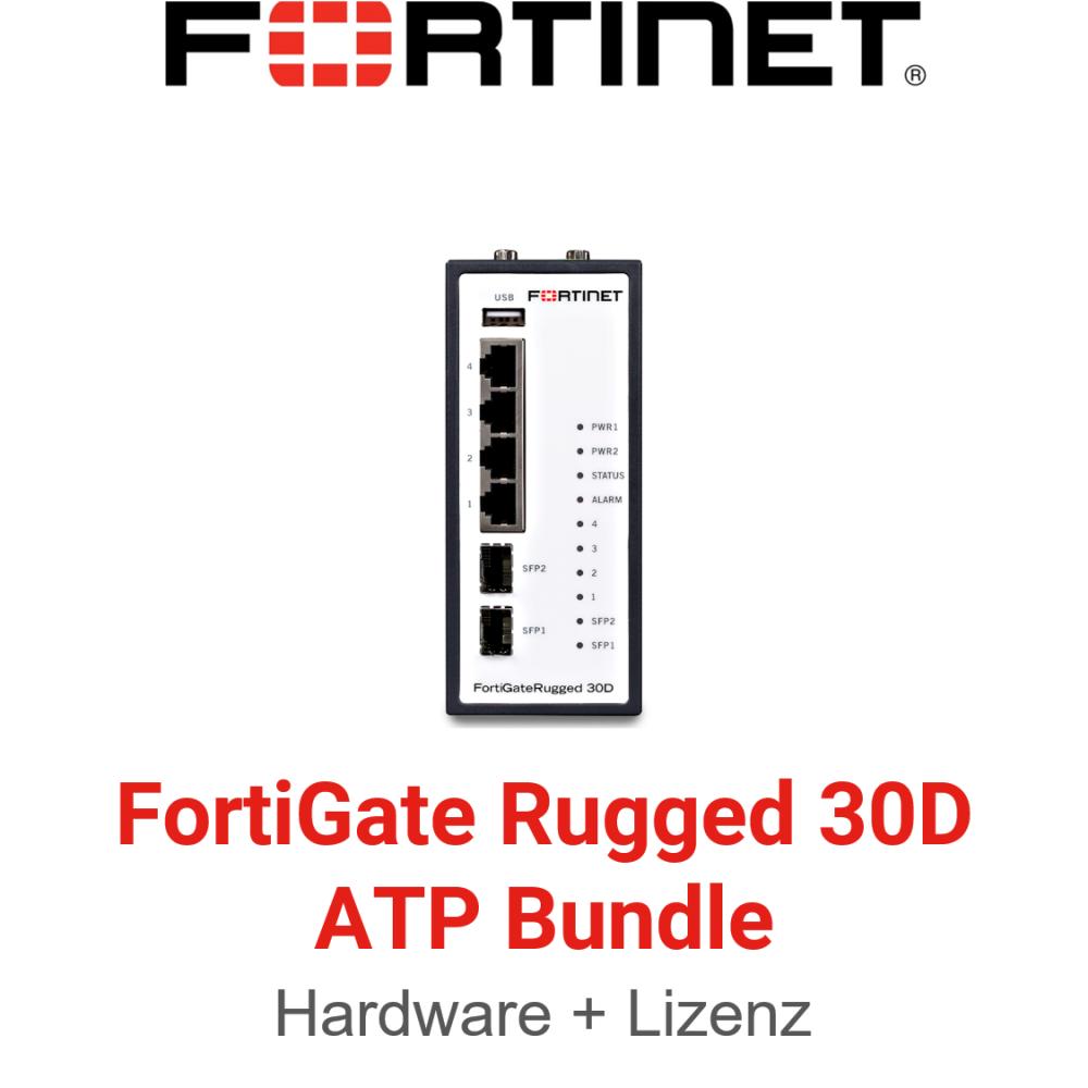 Fortinet FortiGateRugged-30D ATP Bundle (Hardware + Lizenz)