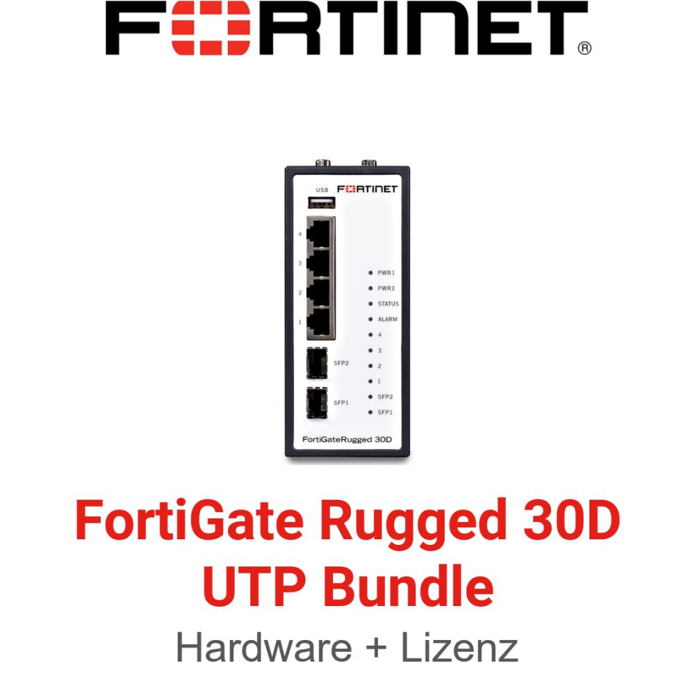 Fortinet FortiGateRugged-30D - UTM/UTP Bundle (Hardware + Lizenz)
