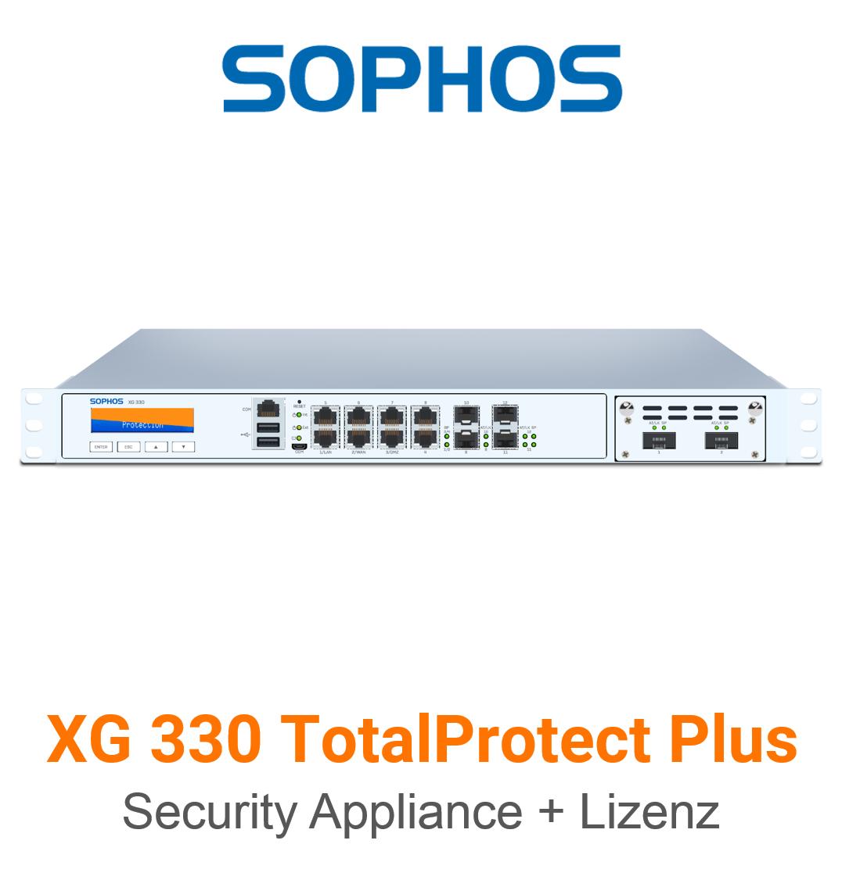 Sophos XG 330 TotalProtect Plus Bundle (Hardware + Lizenz)