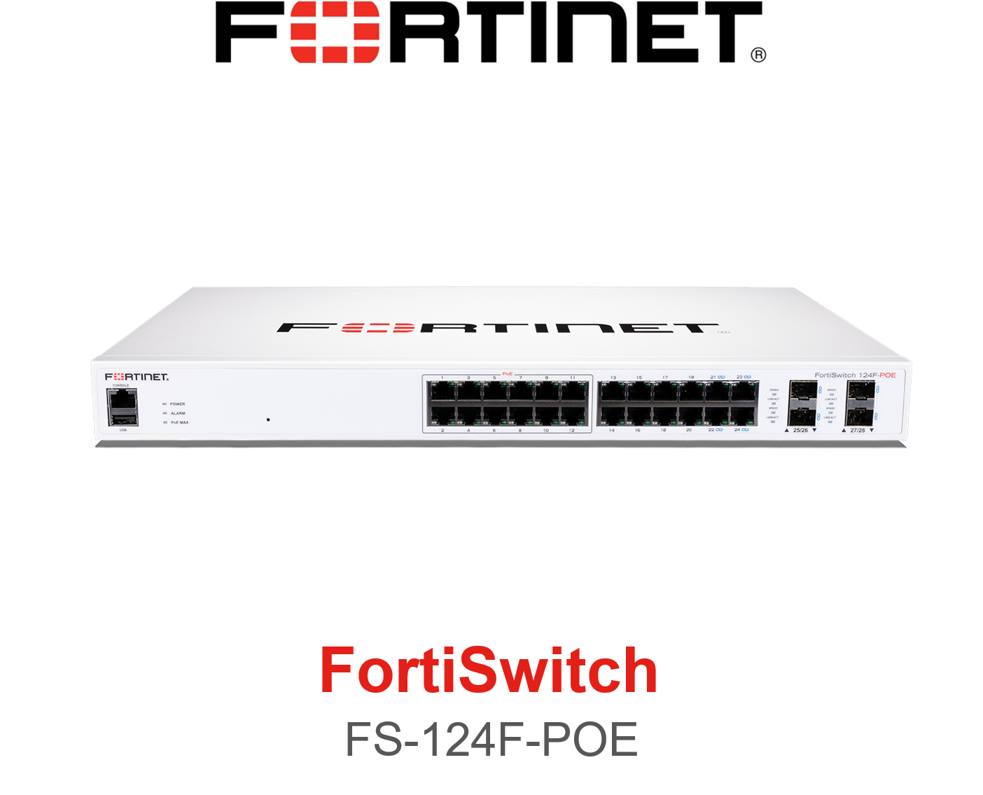 Fortinet FortiSwitch 124F POE