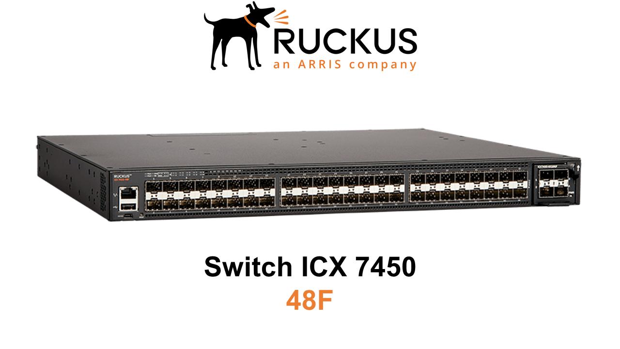 Ruckus ICX 7450-48F Switch