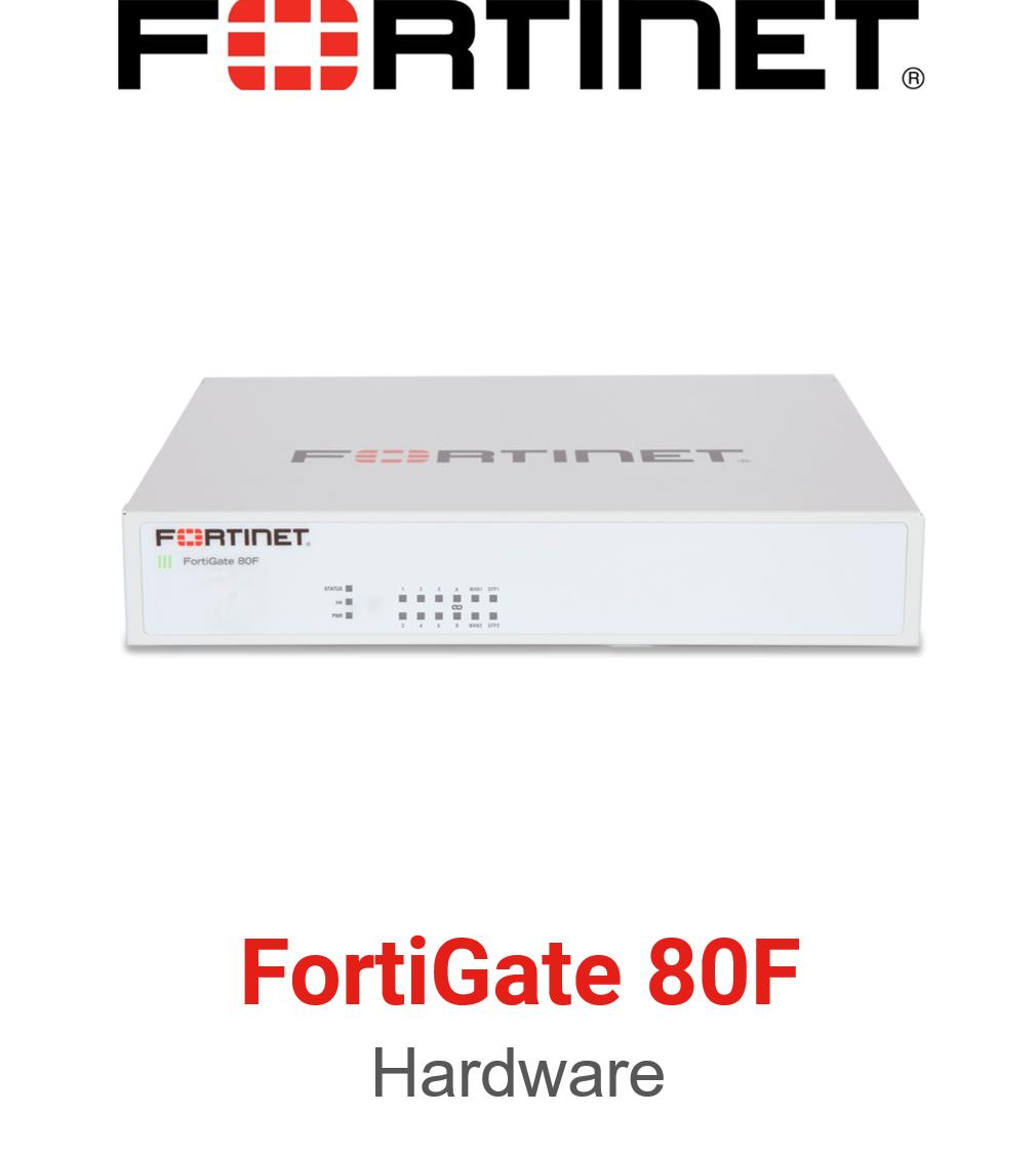 Fortinet FortiGate 80F Firewall