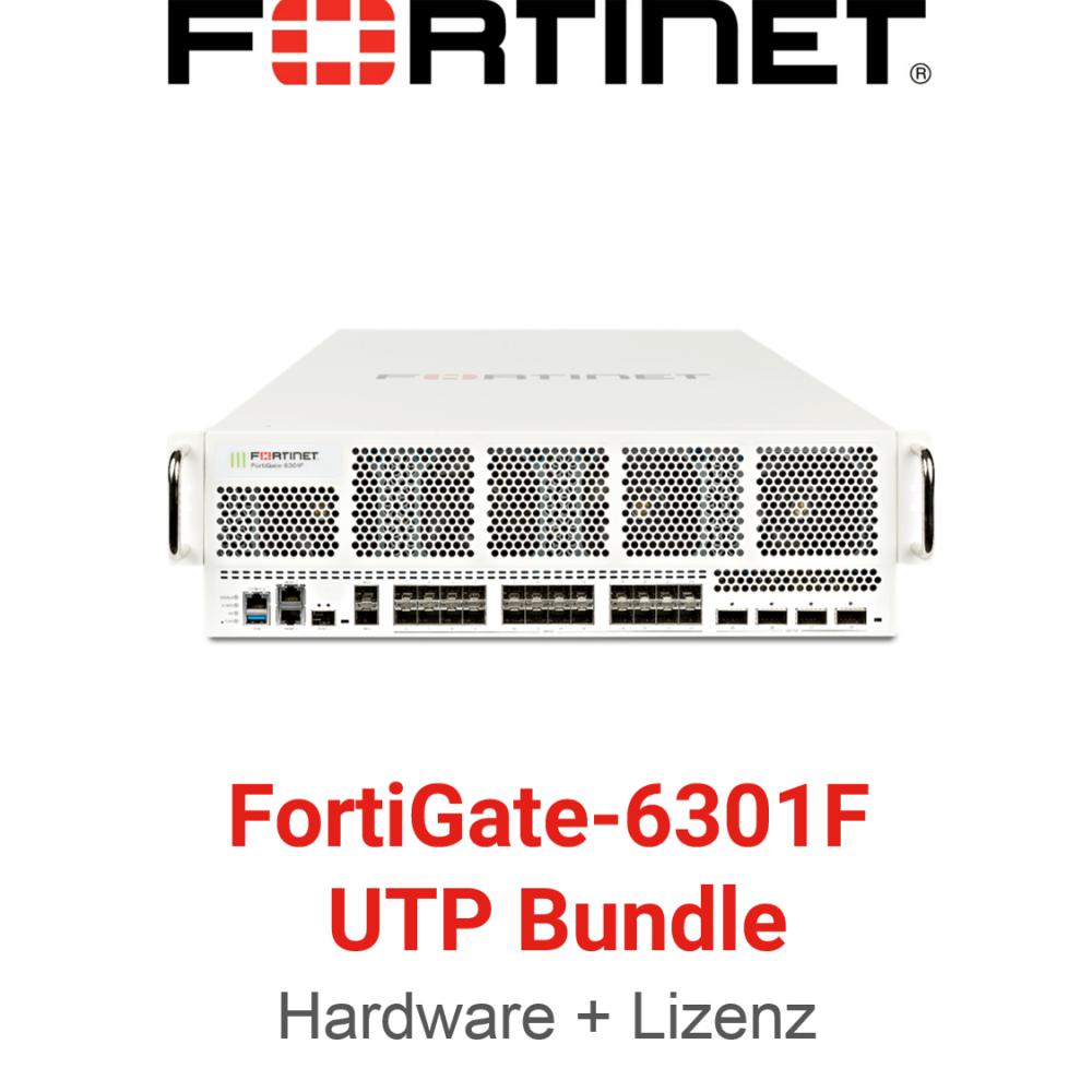 Fortinet FortiGate-6301F - UTM/UTP Bundle (Hardware + Lizenz)