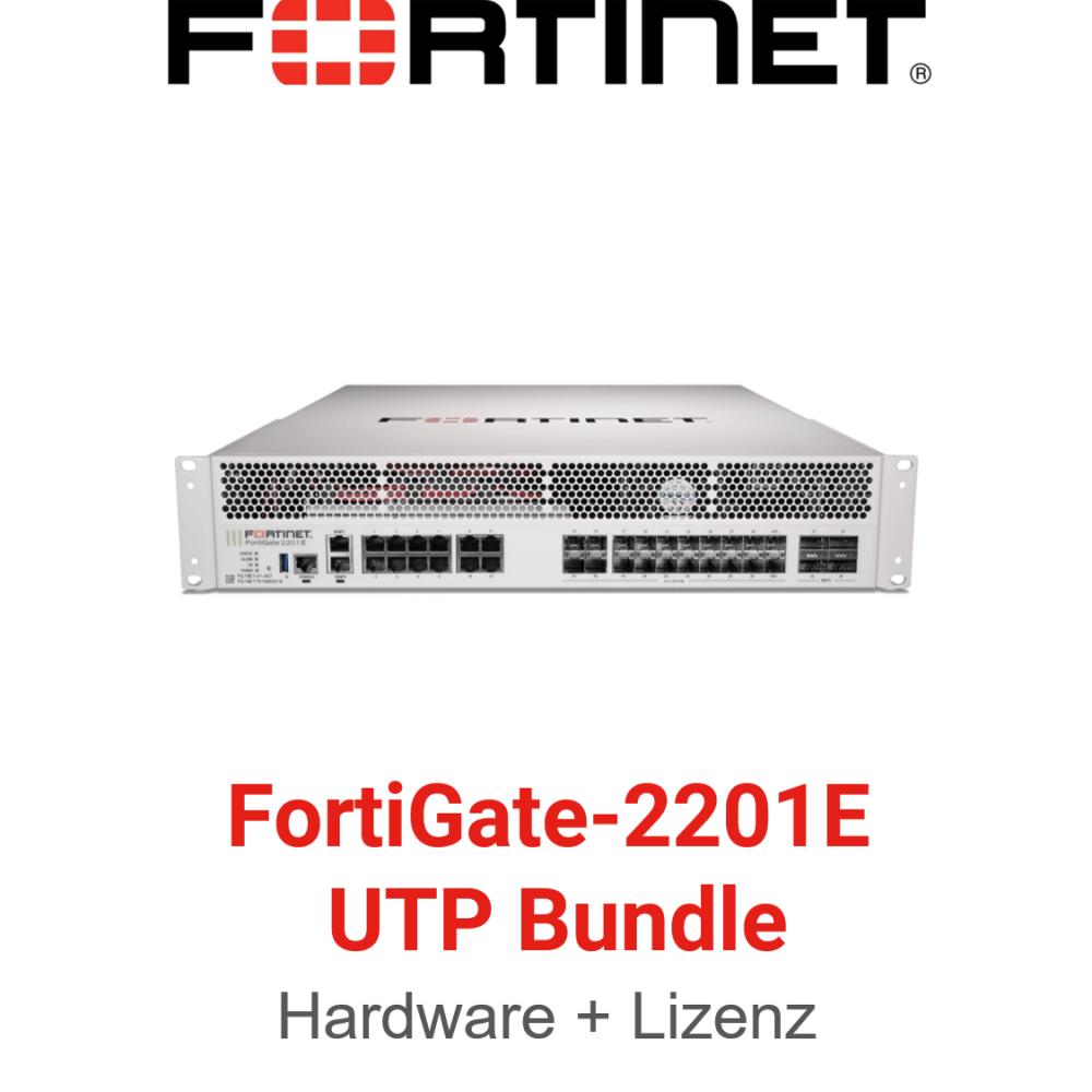 Fortinet FortiGate-2201E - UTM/UTP Bundle (Hardware + Lizenz)