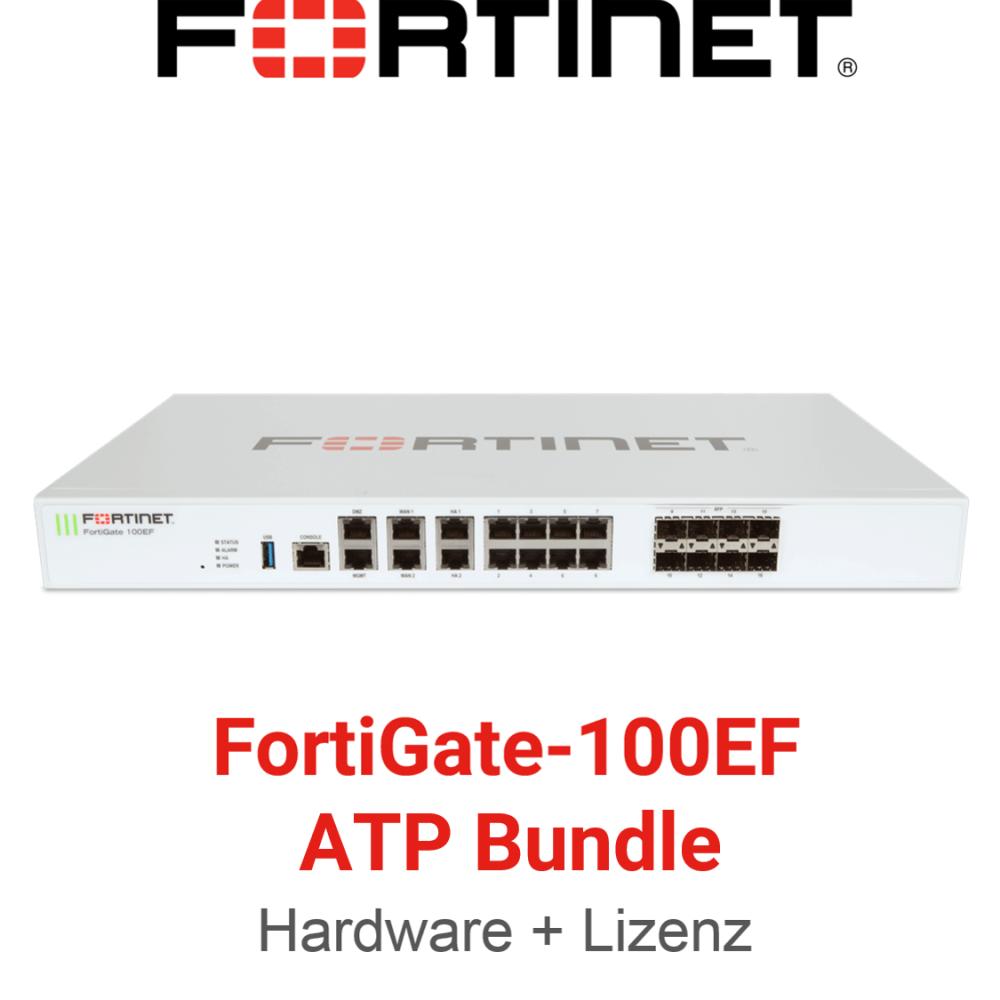 Fortinet FortiGate-100EF - ATP Bundle (Hardware + Lizenz)