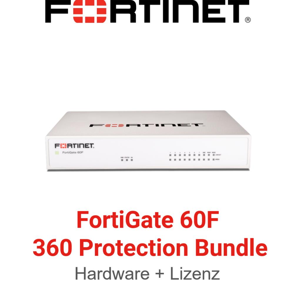 Fortinet FortiGate FG-60F - 360 Bundle (Hardware + Lizenz)