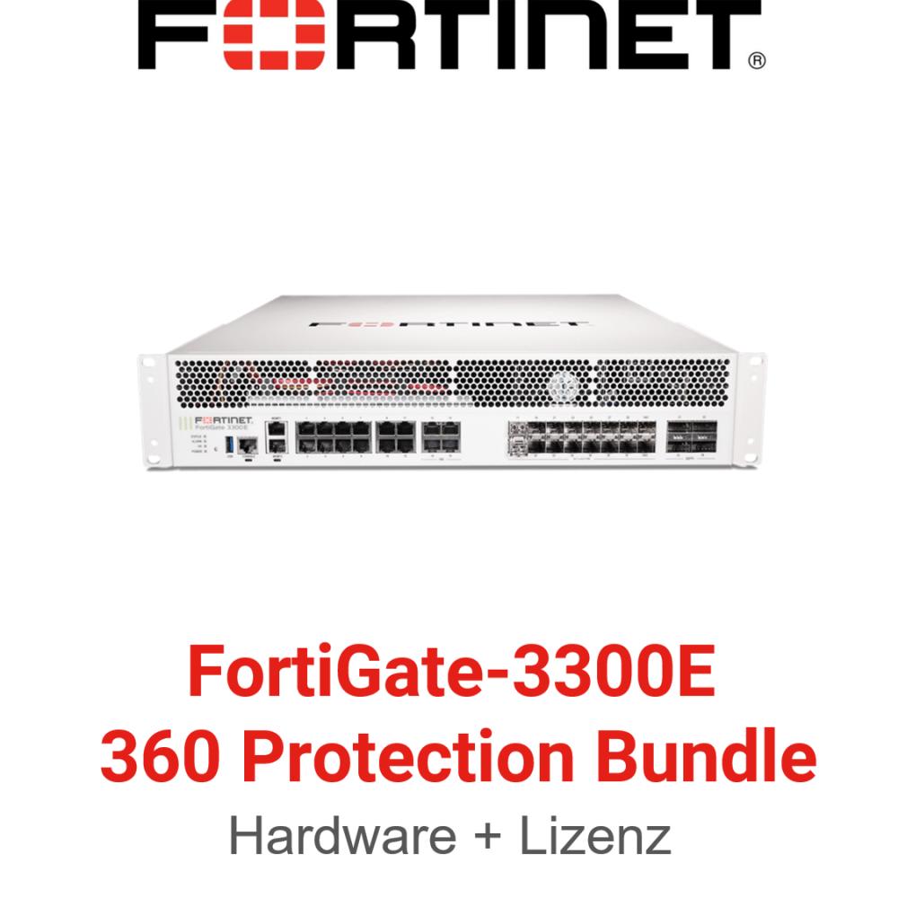 Fortinet FortiGate-3300E - 360 Bundle (Hardware + Lizenz)