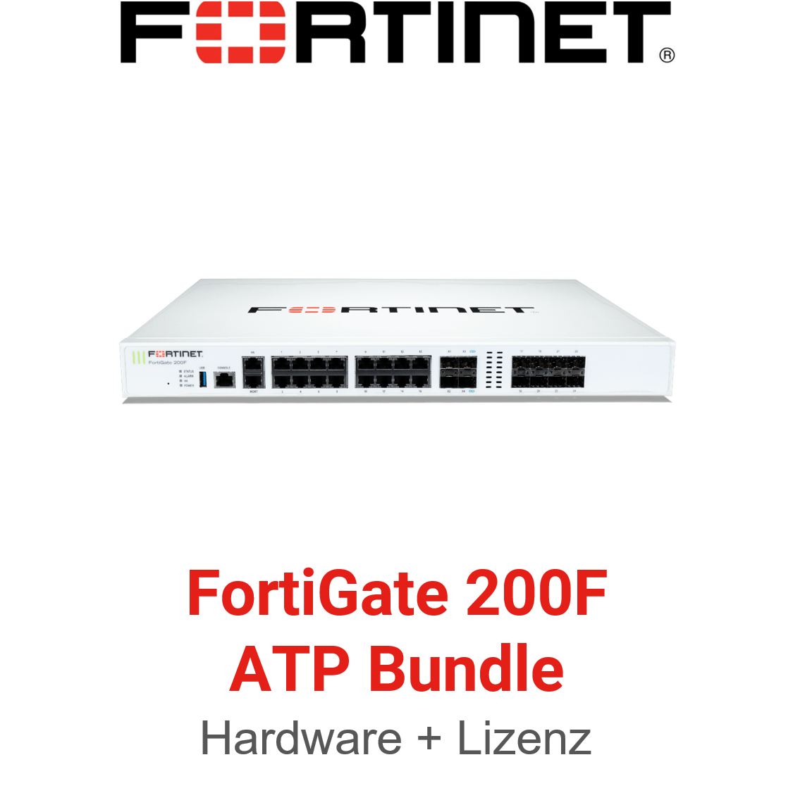 Fortinet FortiGate-200F - ATP Bundle (Hardware + Lizenz)