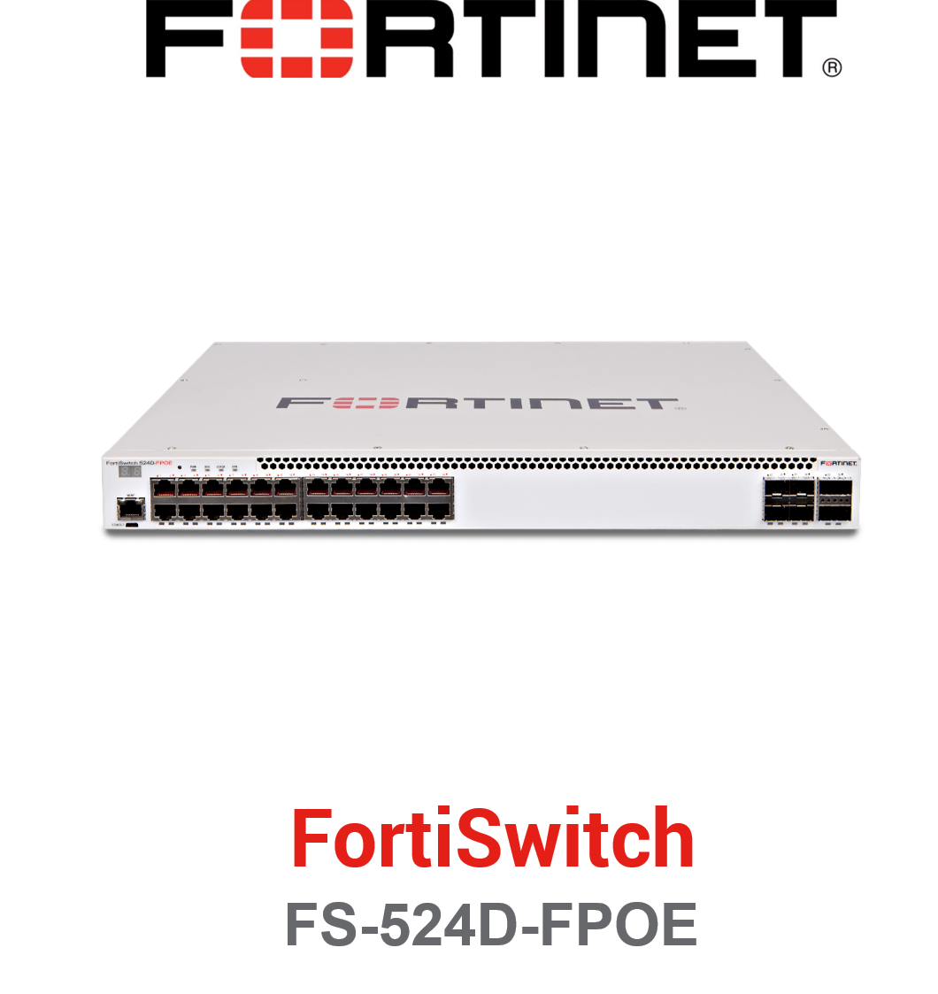 Fortinet FortiSwitch-524D-FPOE