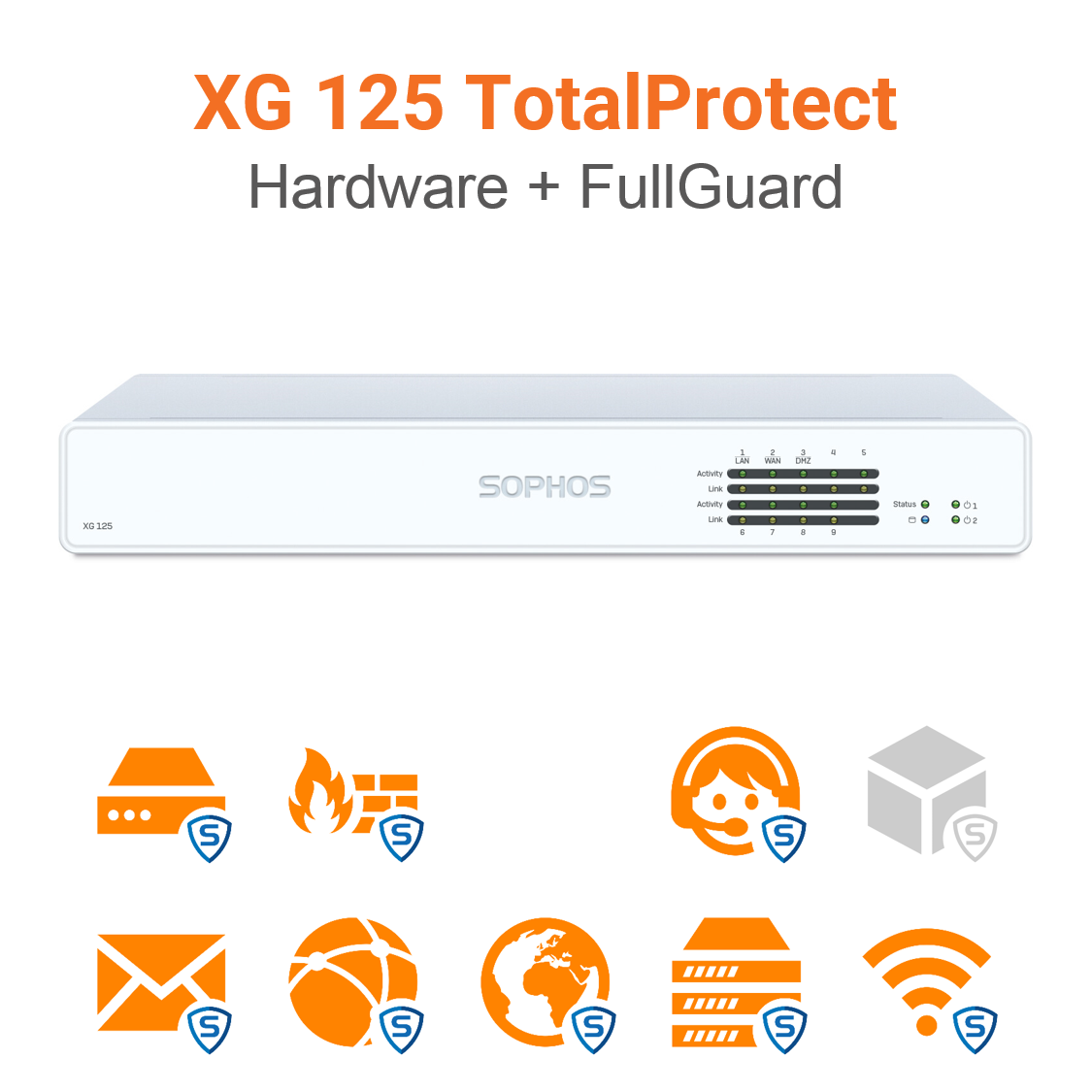 Sophos XG 125 TotalProtect Bundle (Hardware + Lizenz)
