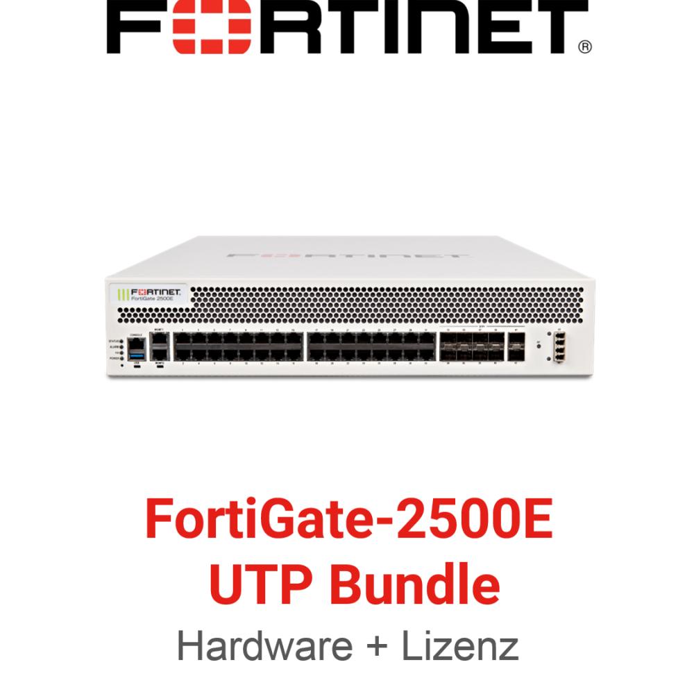 Fortinet FortiGate-2500E - UTM/UTP Bundle (Hardware + Lizenz)