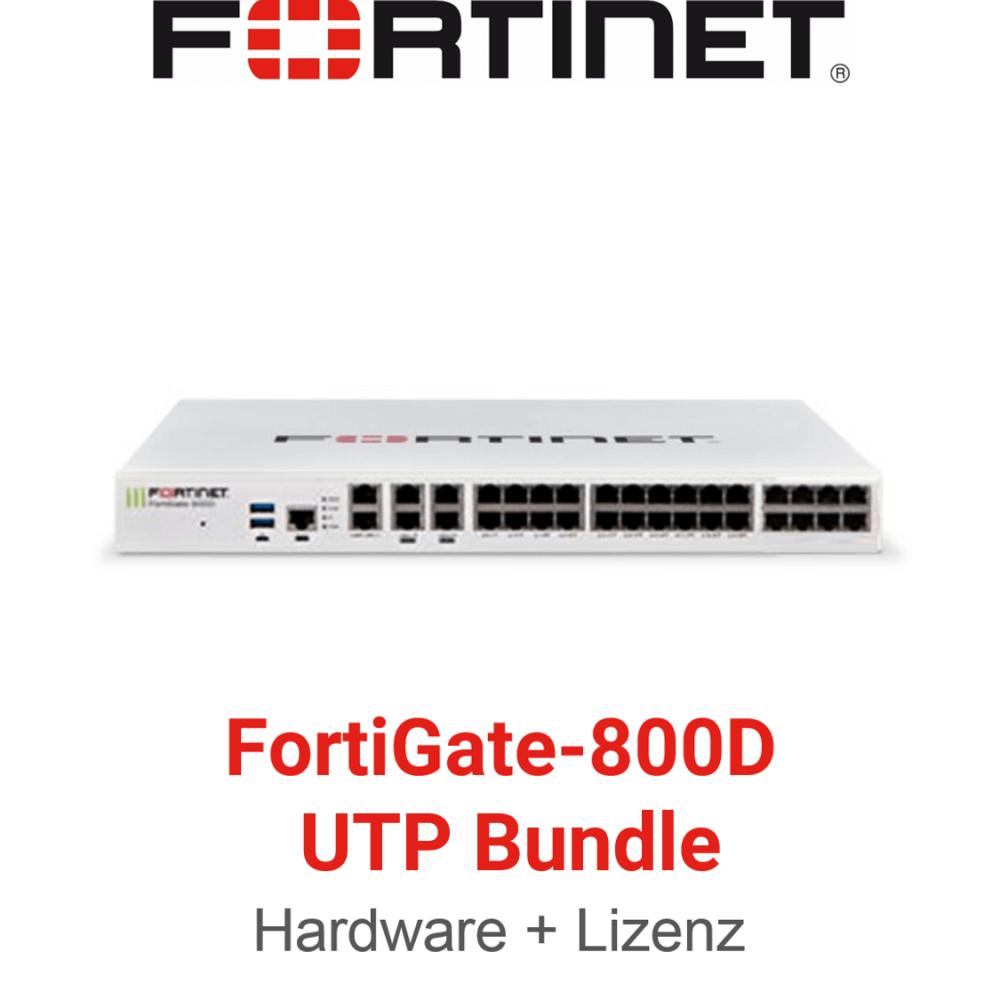 Fortinet FortiGate-800D - UTM/UTP Bundle (Hardware + Lizenz)