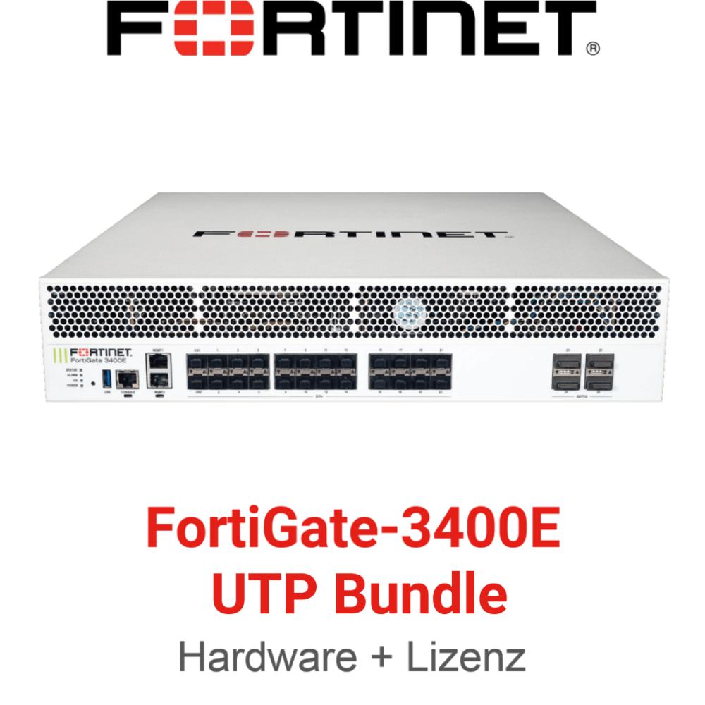Fortinet FortiGate-3400E UTM/UTP Bundle