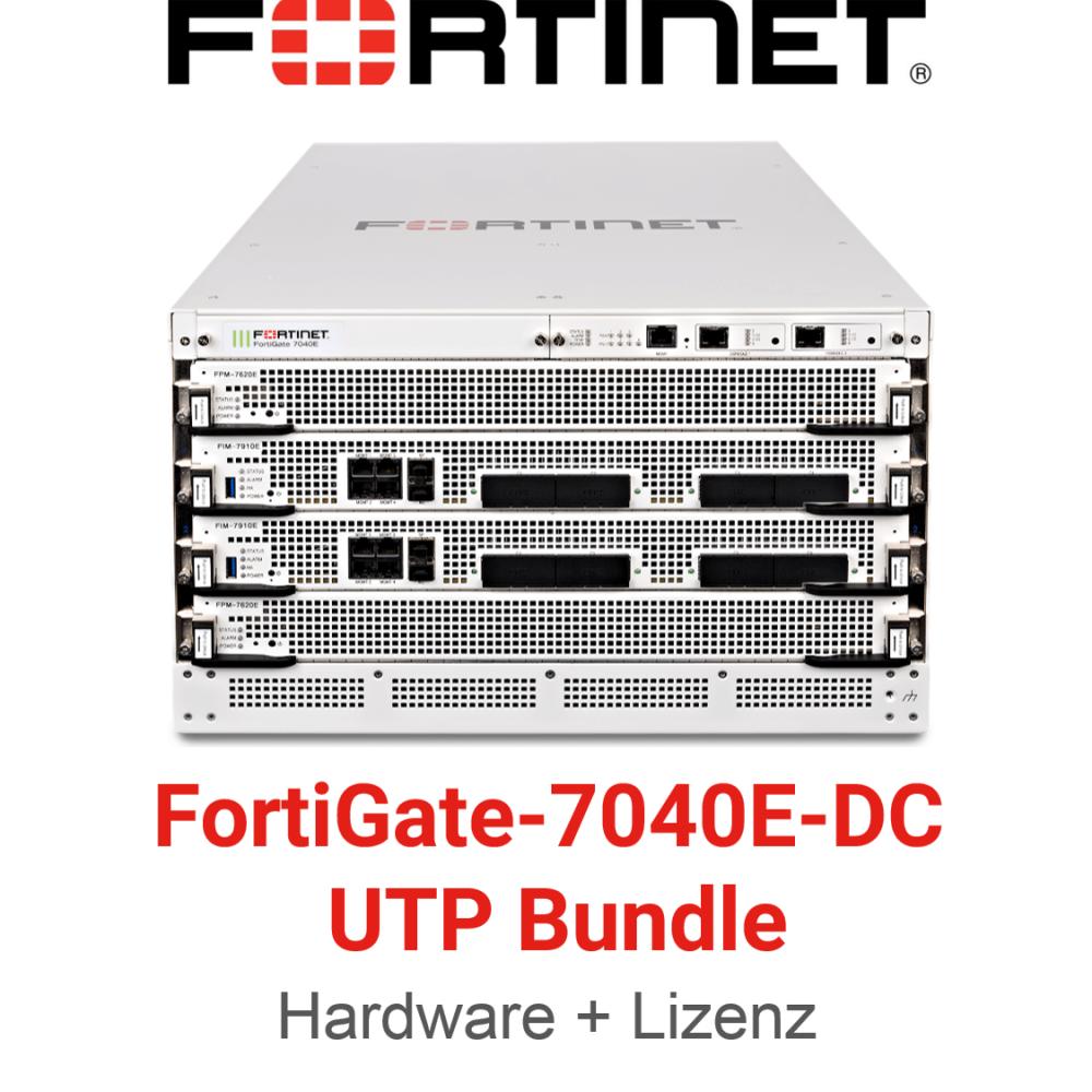 Fortinet FortiGate-7040E-8-DC - UTM/UTP Bundle (Hardware + Lizenz)