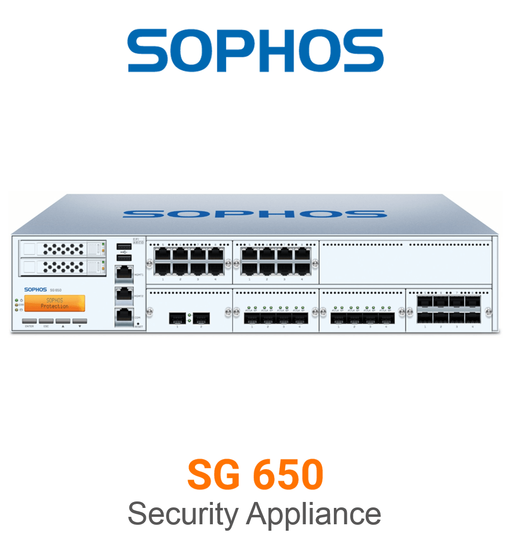Sophos SG 650 Securiy Appliance