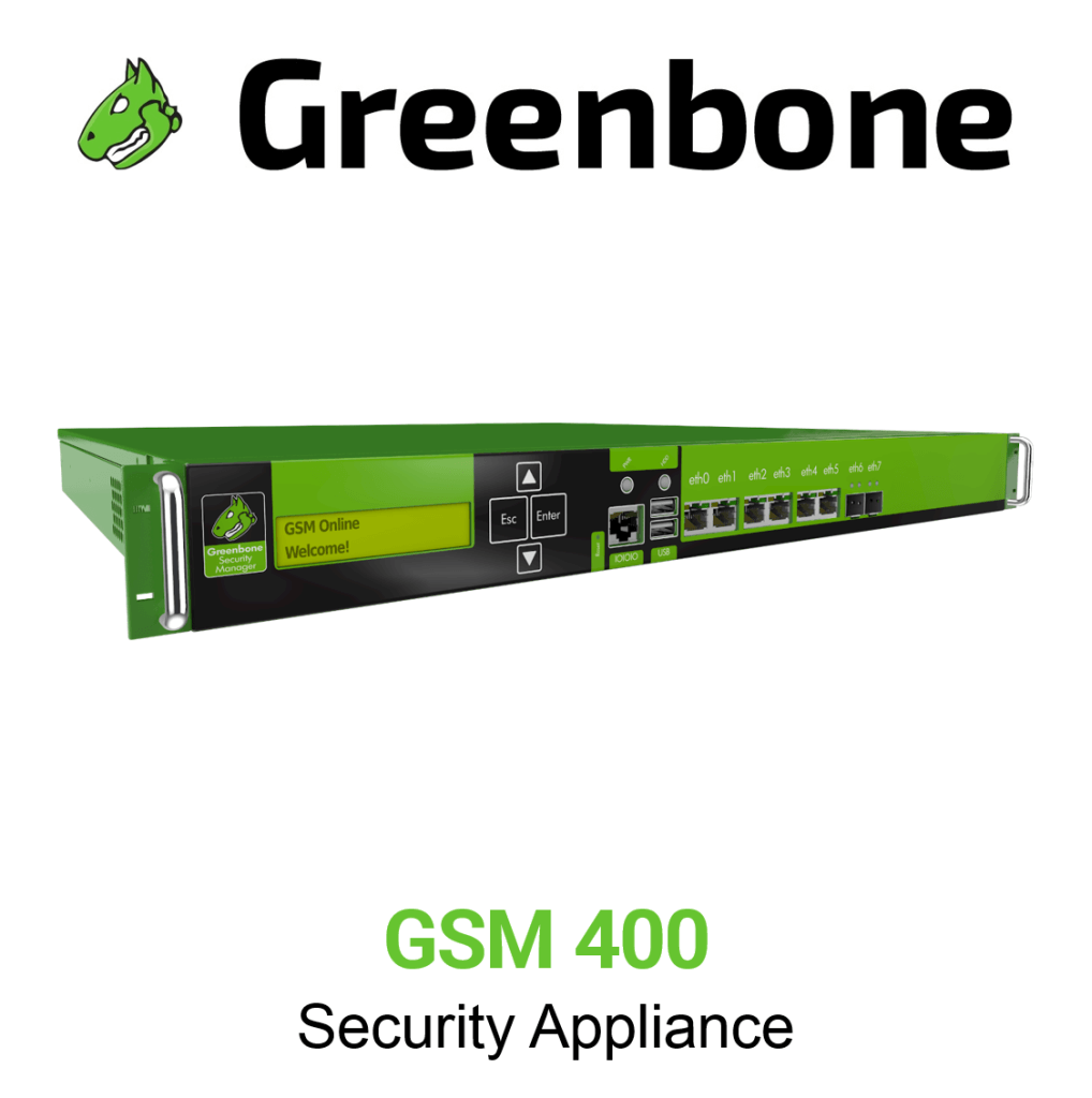 Greenbone GSM 400 Appliance