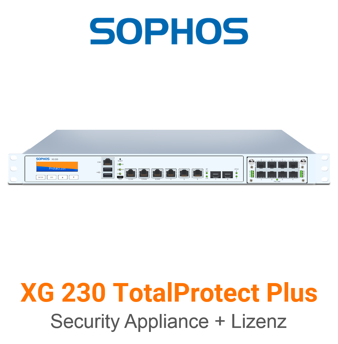 Sophos XG 230 TotalProtect Plus Bundle (Hardware + Lizenz)