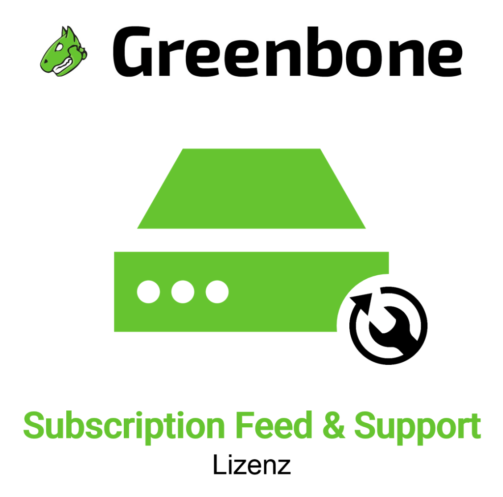 Greenbone GSM 450 Subscription Feeds und Support