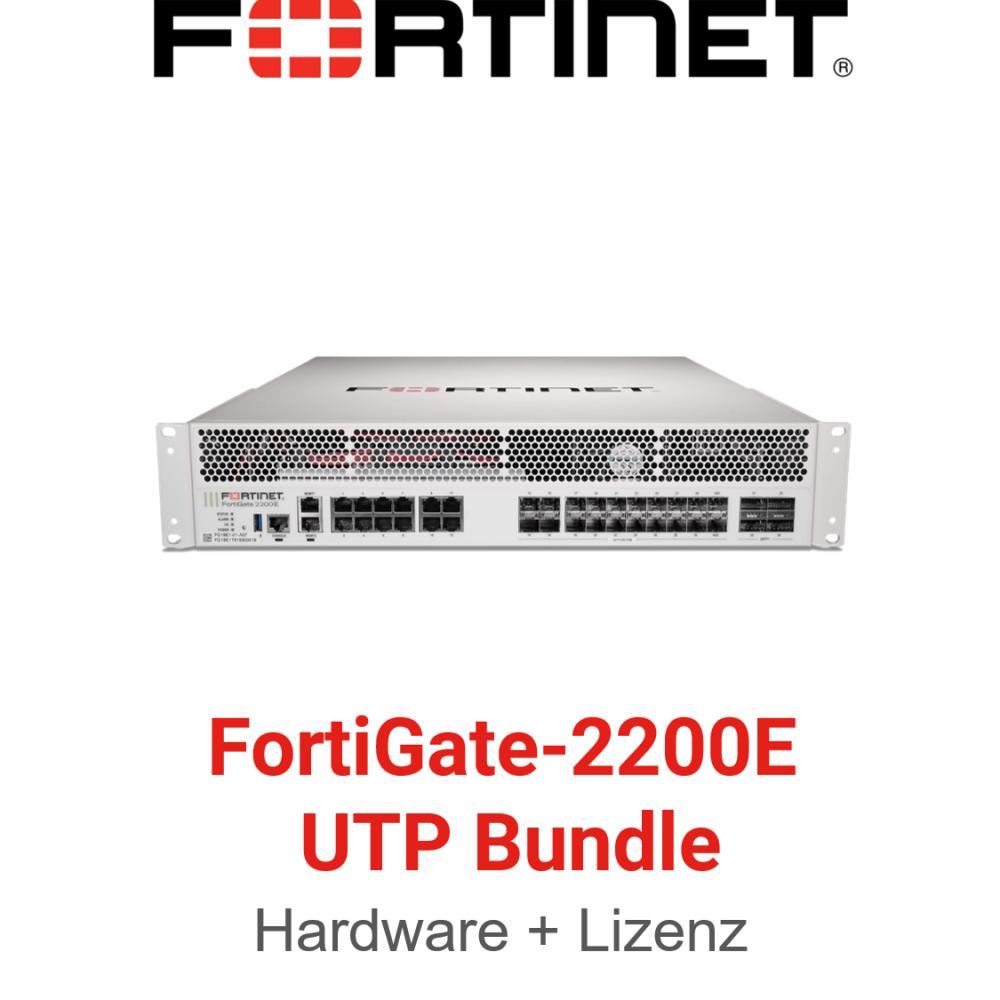 Fortinet FortiGate-2200E - UTM/UTP Bundle (Hardware + Lizenz)