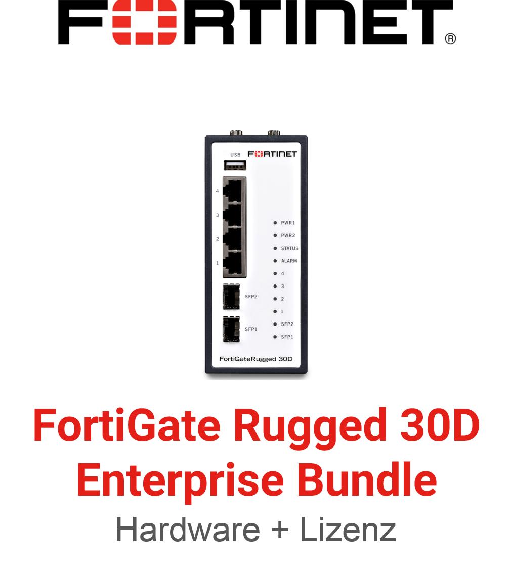 Fortinet FortiGateRugged-30D - Enterprise Bundle (Hardware + Lizenz)