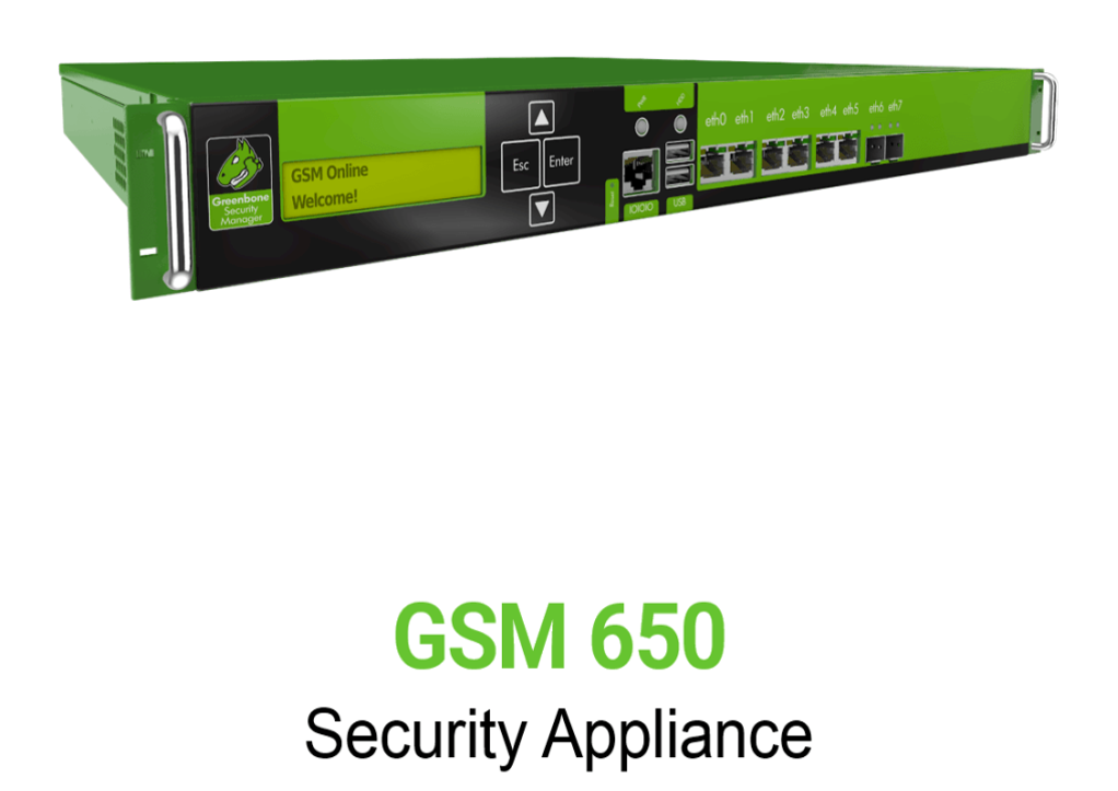 Greenbone GSM 650 Appliance