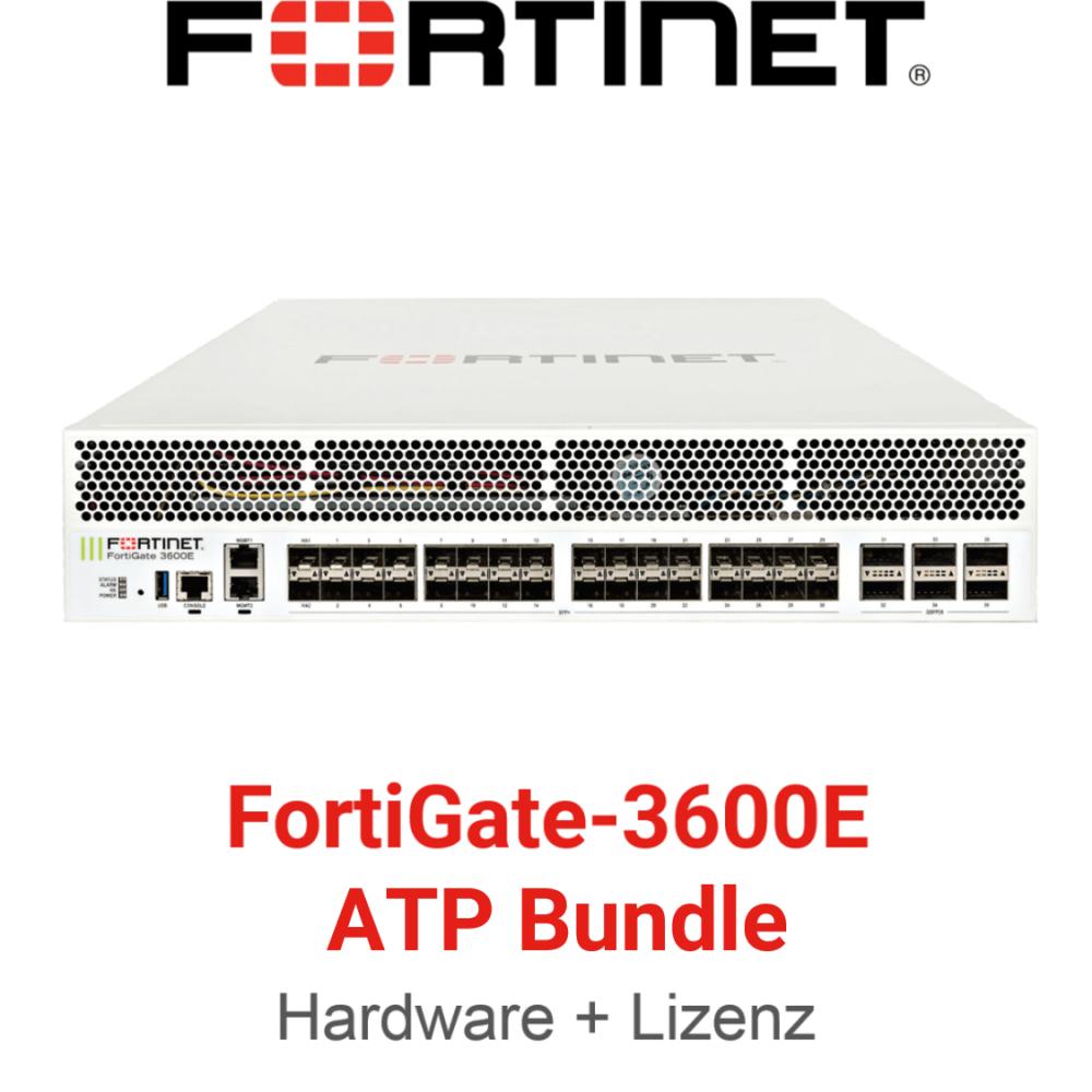 Fortinet FortiGate-3600E - ATP Bundle (Hardware + Lizenz)