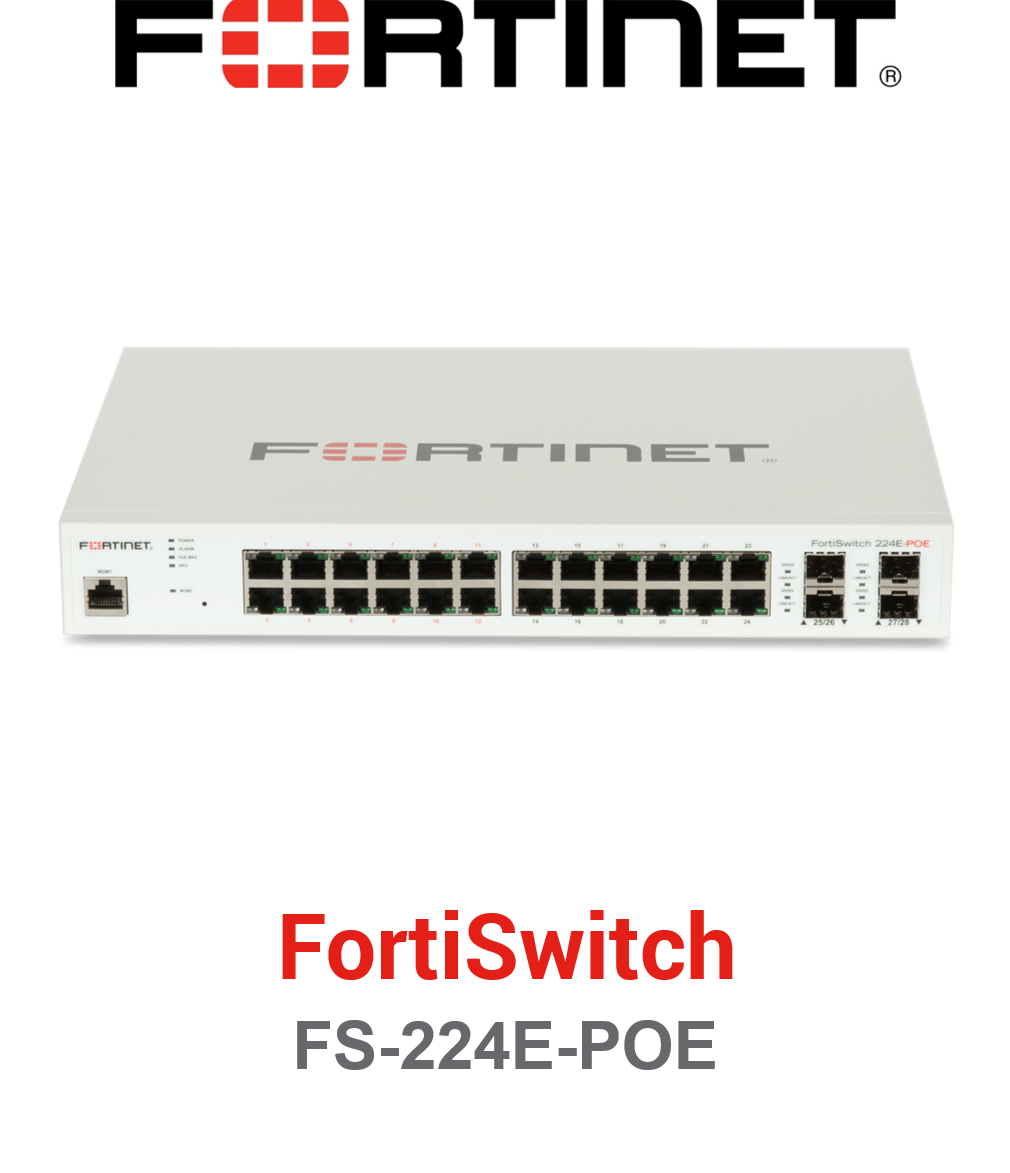 Fortinet FortiSwitch-224E-POE