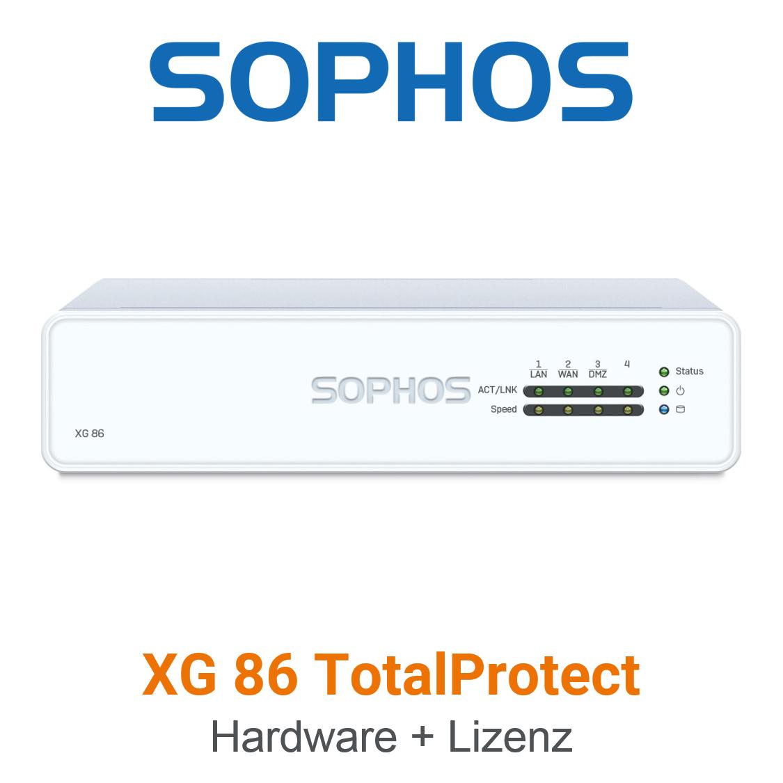 Sophos XG 86 TotalProtect Bundle (Hardware + Lizenz)
