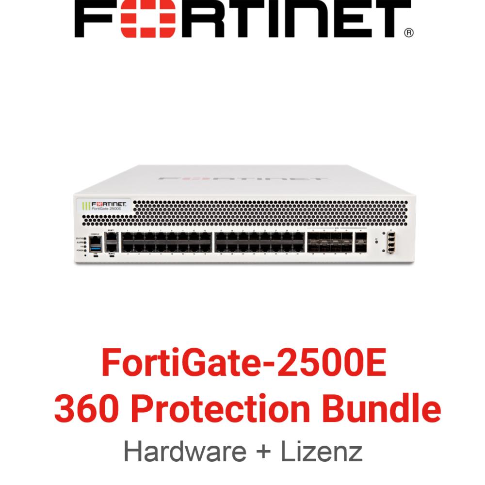 Fortinet FortiGate-2500E - 360 Bundle (Hardware + Lizenz)
