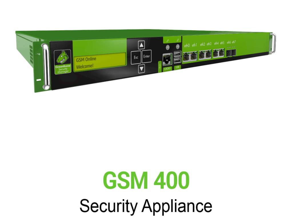Greenbone GSM 400 Appliance