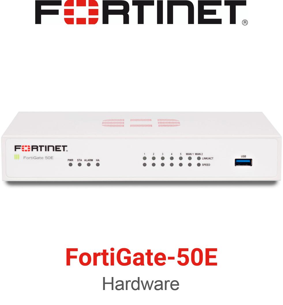 Fortinet FortiGate 50E Firewall