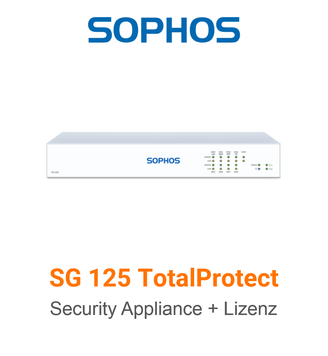 Sophos SG 125 TotalProtect Bundle (Hardware + Lizenz)