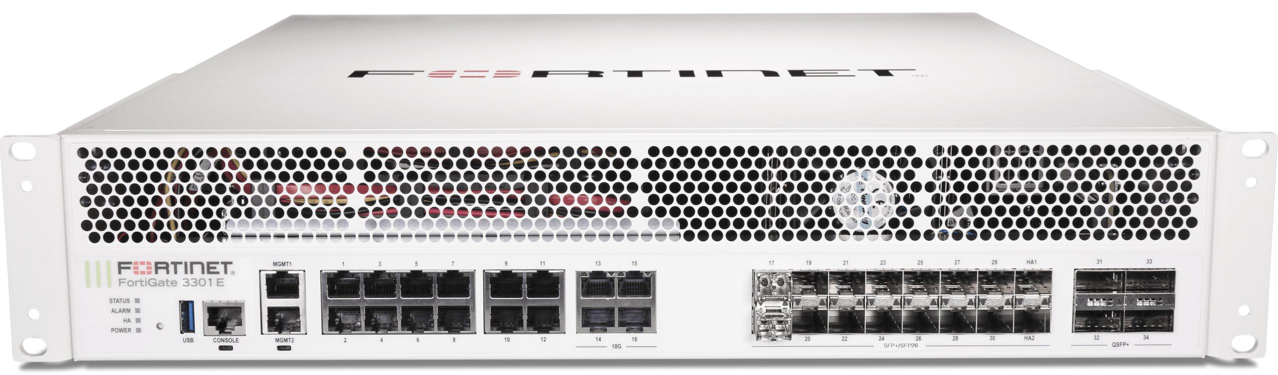 Fortinet FortiGate-3301E - Enterprise Bundle (Hardware + Lizenz)