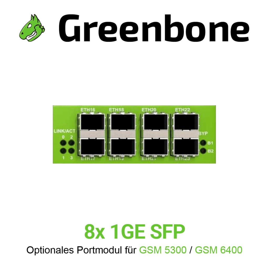 Greenbone GSM 5300/6400 Portmodul