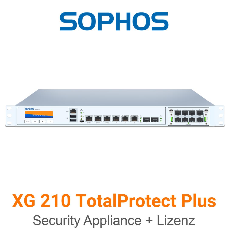 Sophos XG 210 TotalProtect Plus Bundle (Hardware + Lizenz)