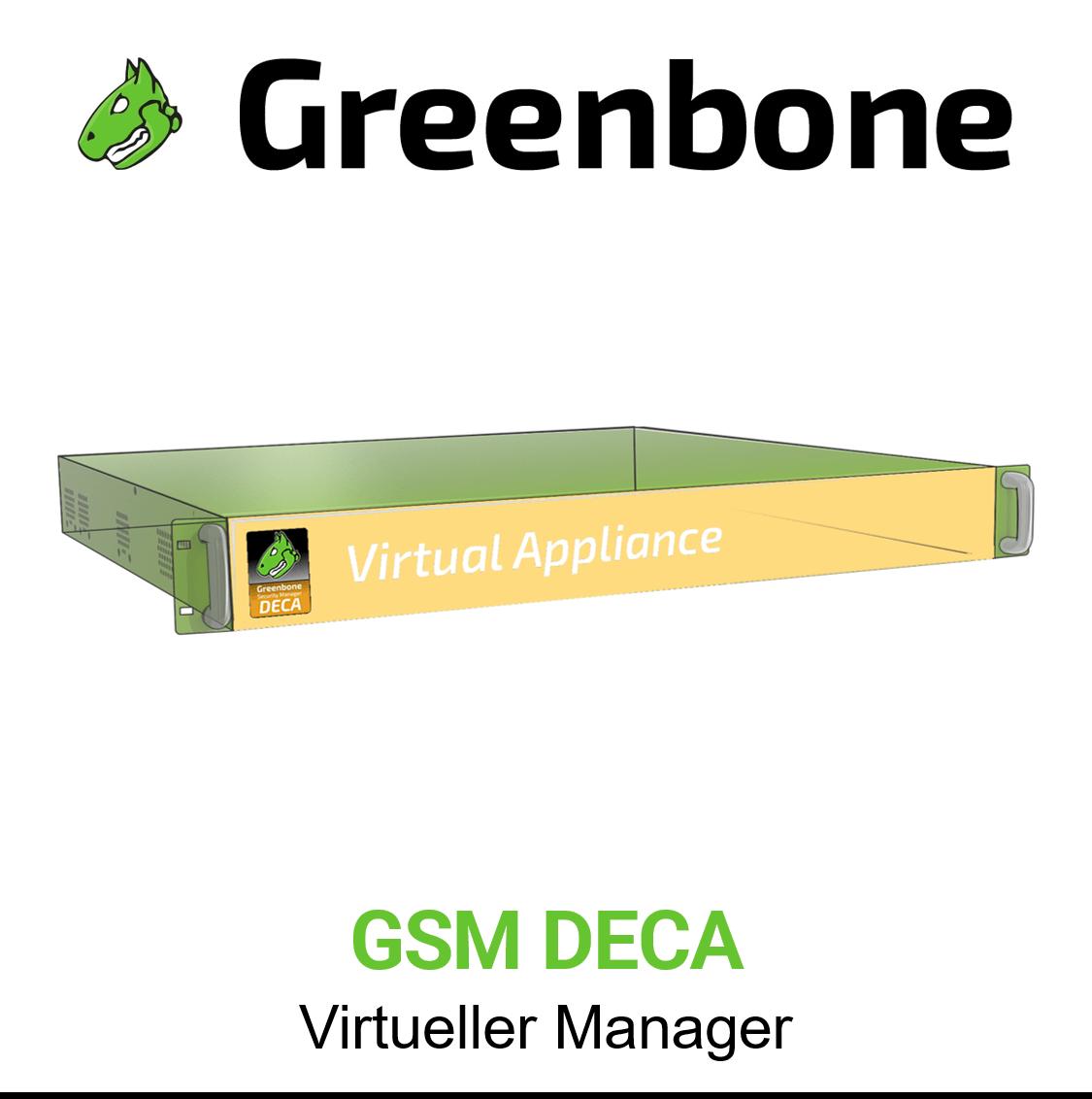 Greenbone GSM DECA Virtuelle Appliance