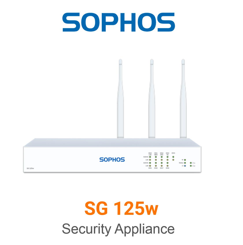 Sophos SG 125w Securiy Appliance