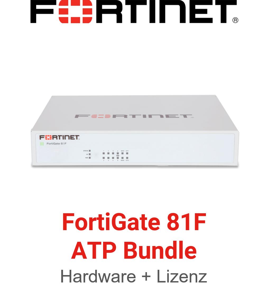 Fortinet FortiGate-81F - ATP Bundle (Hardware + Lizenz)