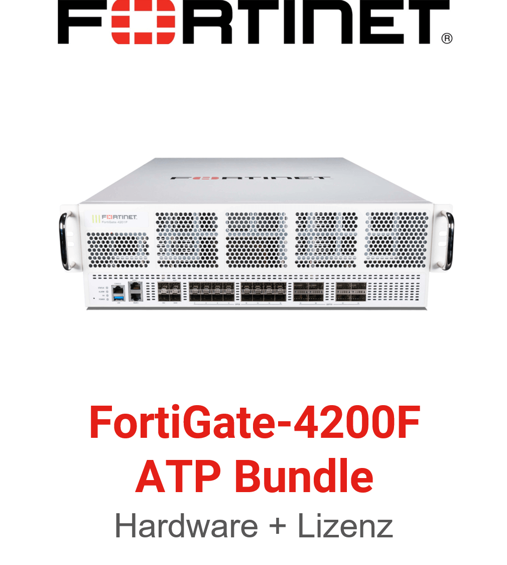 Fortinet FortiGate-4200F - ATP Bundle (Hardware + Lizenz)