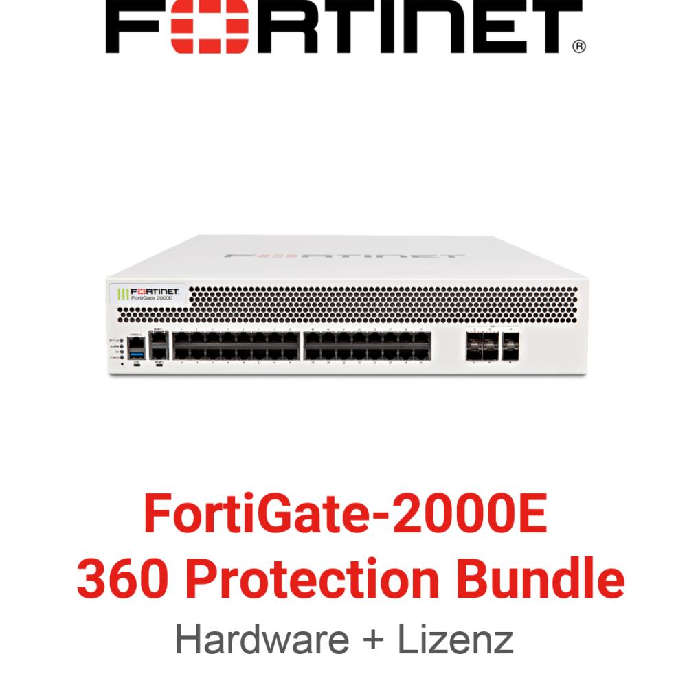 Fortinet FortiGate-2000E - 360 Bundle (Hardware + Lizenz)