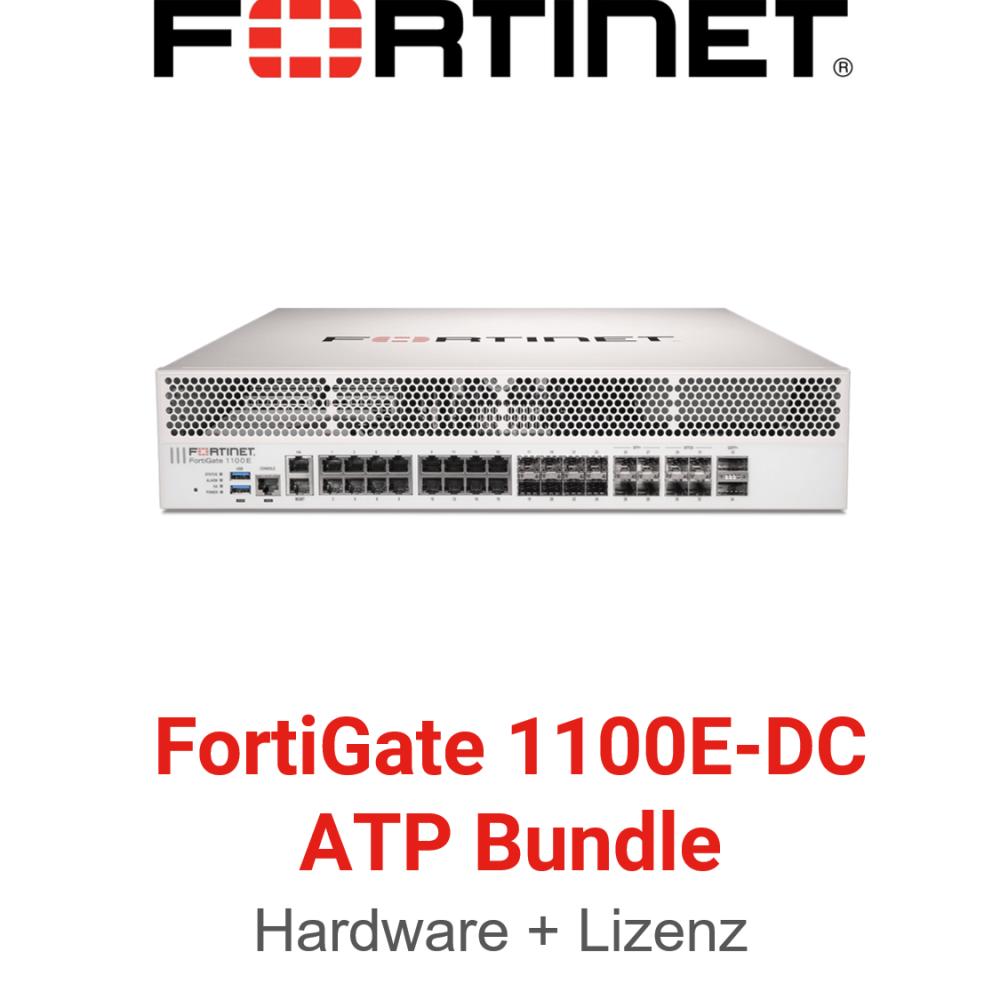 Fortinet FortiGate-1100E-DC - ATP Bundle (Hardware + Lizenz)