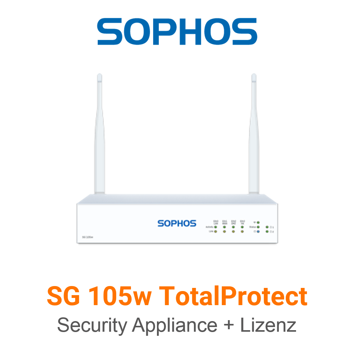 Sophos SG 105w TotalProtect Bundle (Hardware + Lizenz)