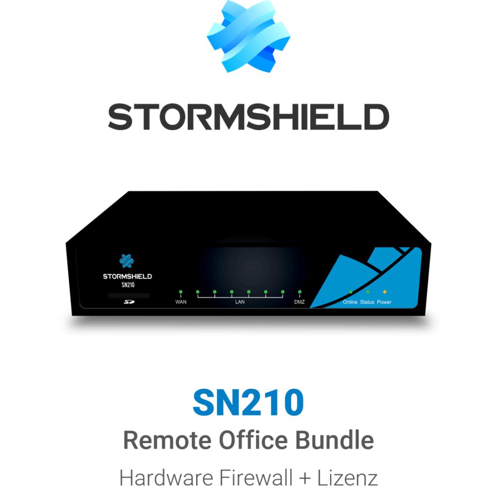 Stormshield SN 210 Remote Office Bundle (Hardware + Lizenz)