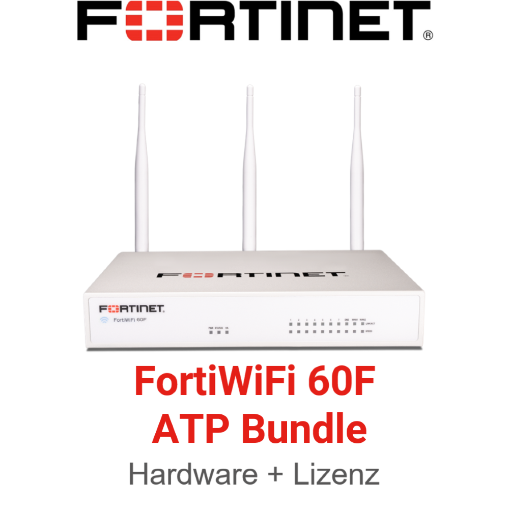 Fortinet FortiWiFi-60F - ATP Bundle (Hardware + Lizenz)